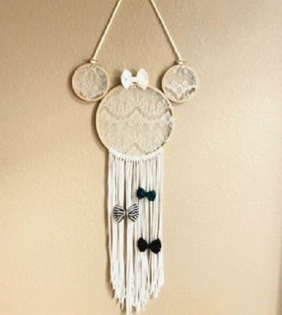 DIY Boho Mini Mouse Holder