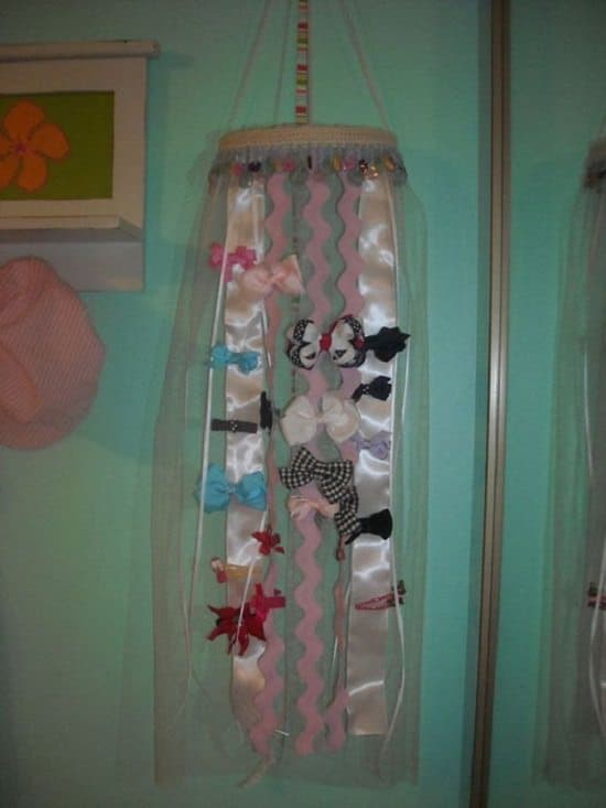 DIY Hair Bow Holder Ideas10