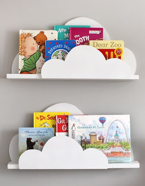 DIY Kids' Bookshelf Ideas3