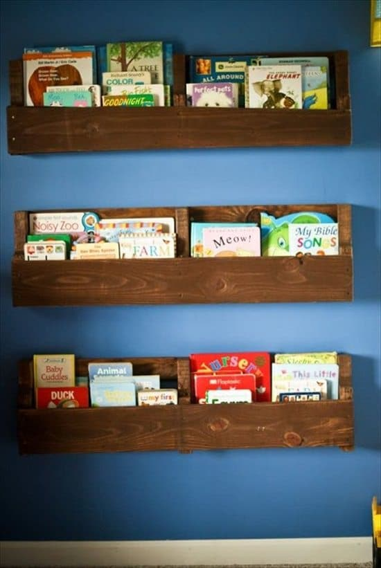 DIY Kids' Bookshelf Ideas5