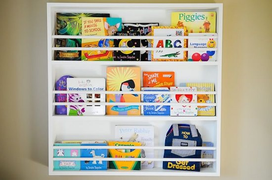 DIY Kids' Bookshelf Ideas7