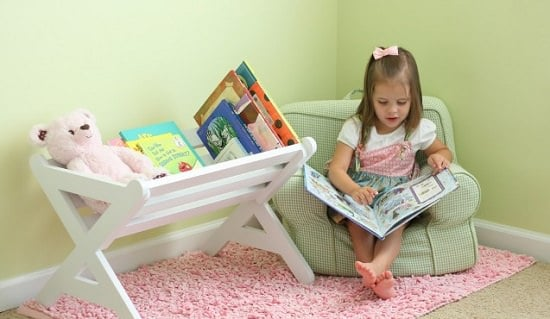 DIY Kids' Bookshelf Ideas8