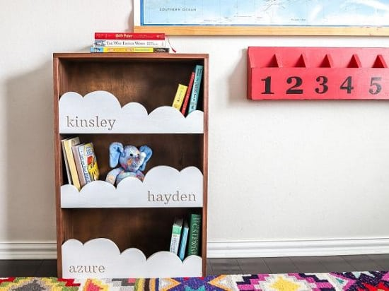 Whimsical Cloud Shelf