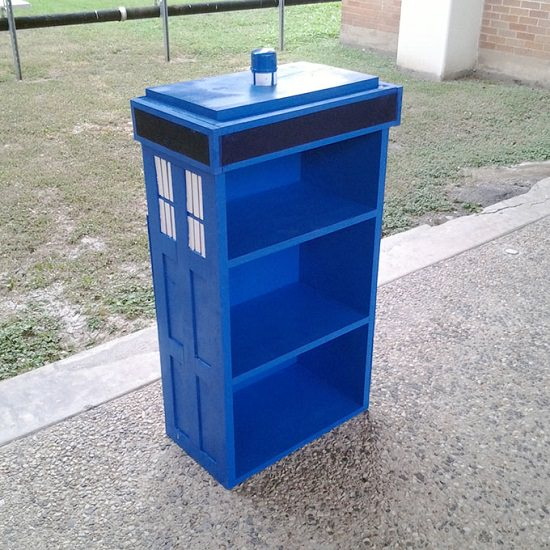 Tardis Shelf