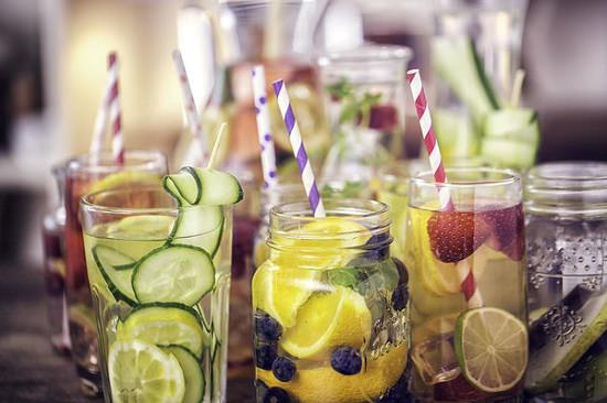 Prepare Fruit Infused Water Last