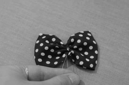 Doted Dog Bow Tie