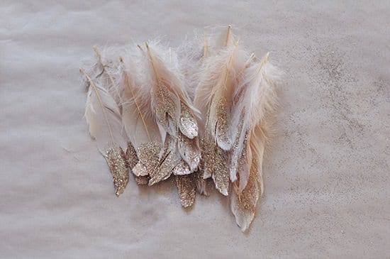 DIY Glitter Feathers4