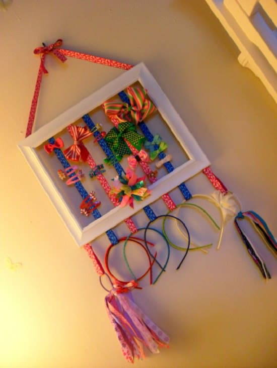 Picture frame holder
