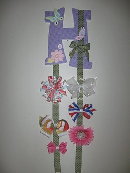 Personalized Hair Accessory Organization