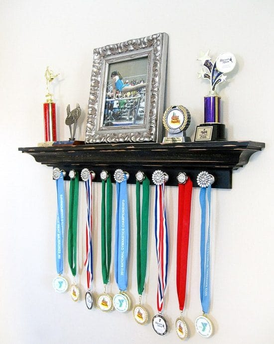 DIY Medal Display Ideas3