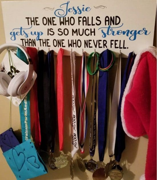 DIY Medal Display Ideas5