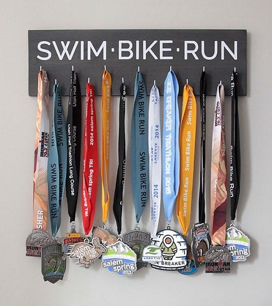 Wooden Plank Race Medal Holder