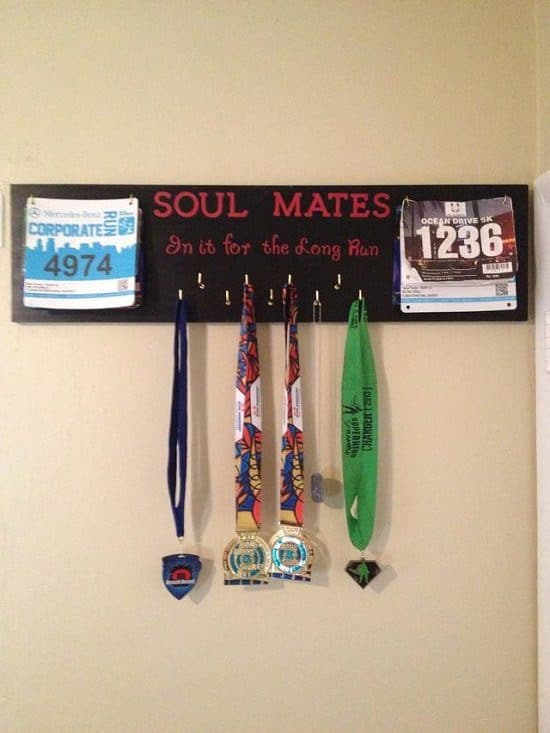 DIY Medal Display Ideas2