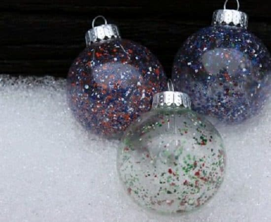 DIY Holiday Ornaments