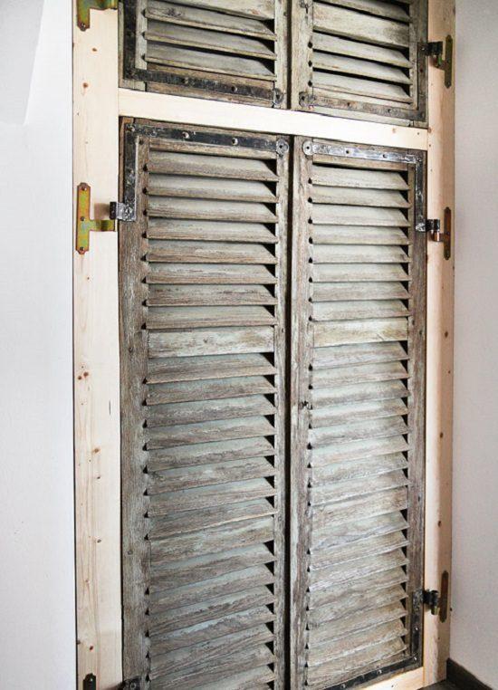 Old Shutter Door