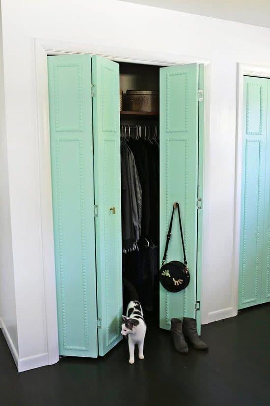 DIY Closet Door Ideas6