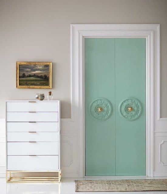 Painting Closet Door
