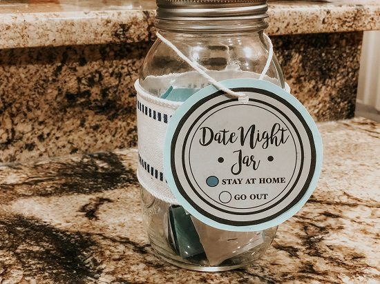 Date Night Jar to Spice Up Your Marriage