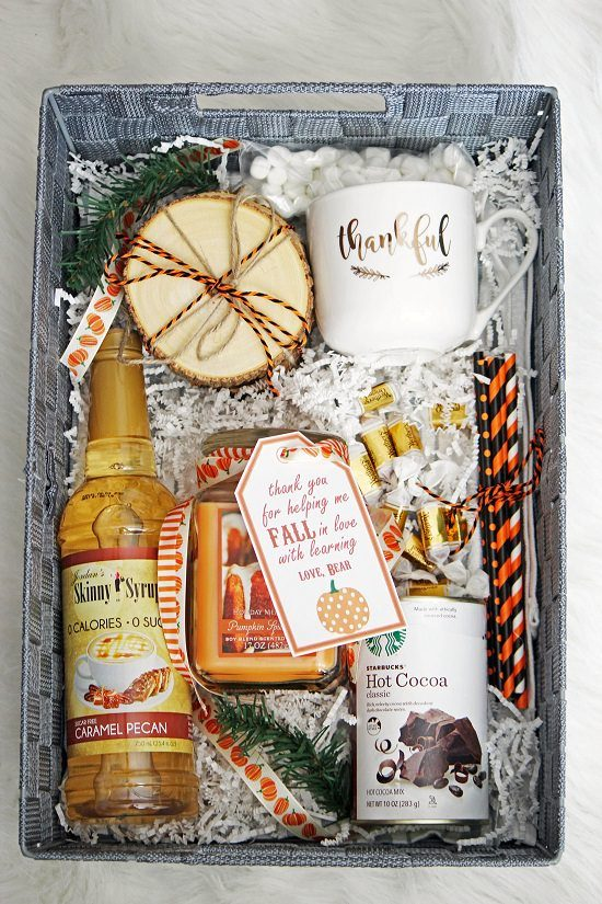 DIY Fall Gift Basket Ideas1