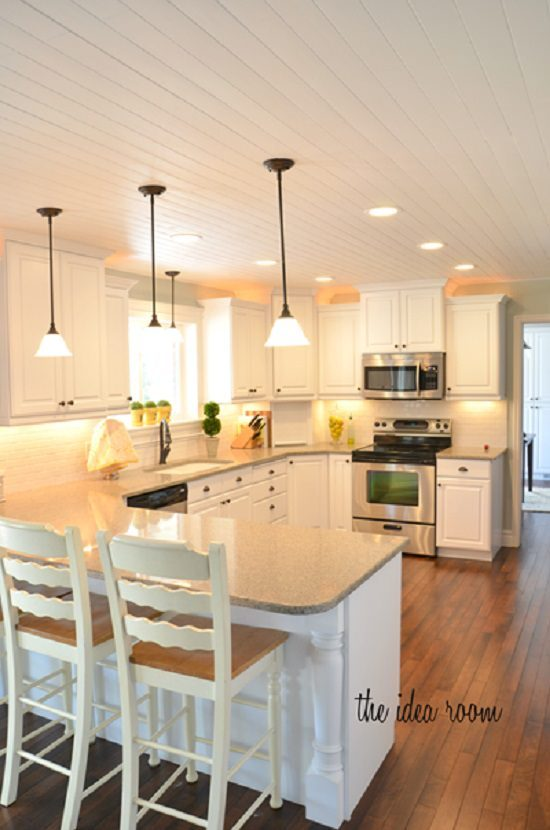 DIY Kitchen Ceiling Ideas1