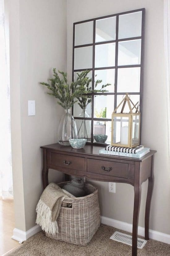 DIY Pottery Barn Eagan Mirror
