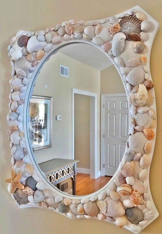 DIY Mirror Decor Ideas3