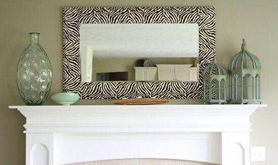 Zebra Mirror