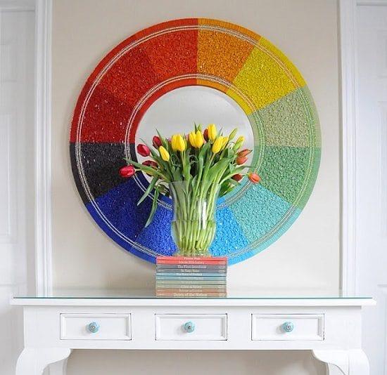 Colour Wheel Mirror