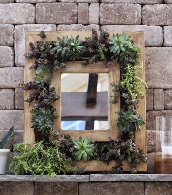 DIY Mirror Decor Ideas7