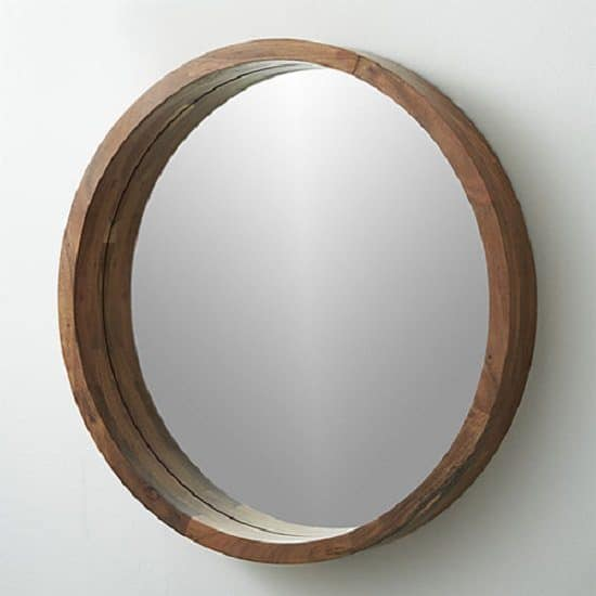 DIY Tray Turned Mirror