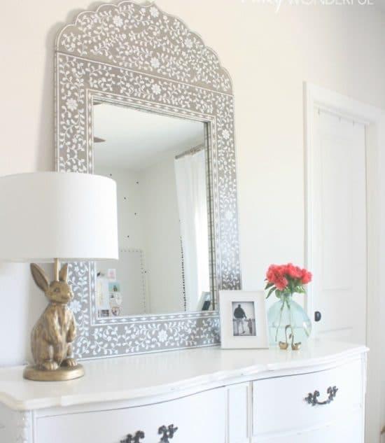 DIY Mirror Decor Ideas9