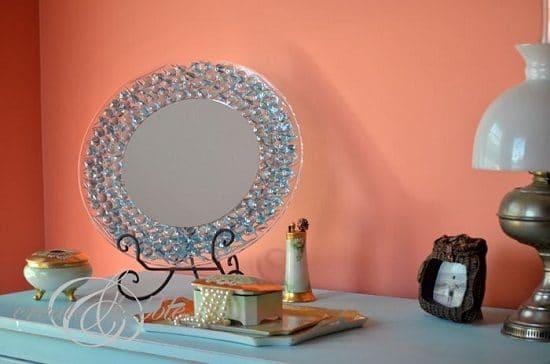 DIY Mirror Decor Ideas2