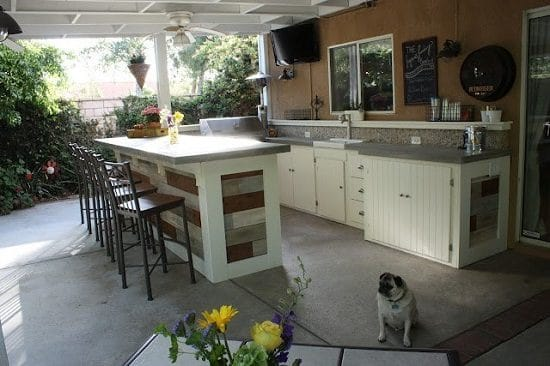 Patio Kitchenette